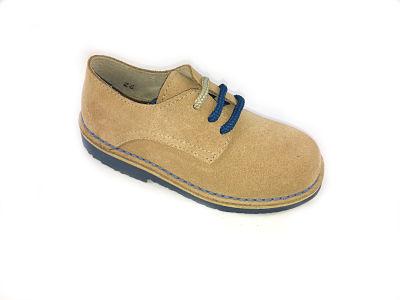 imagen de Zapato  blucher en serraje