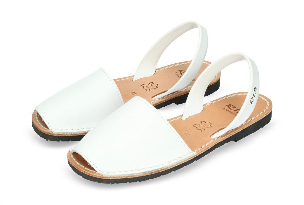Menorquina Piel Blanco