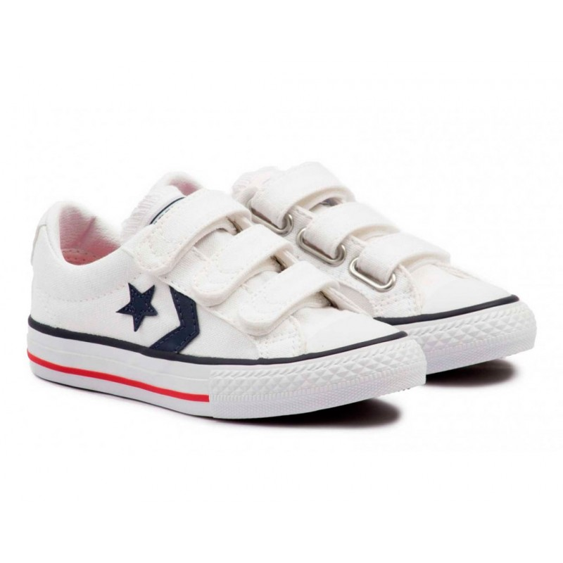 CONVERSE STAR PLAYER WHITE-NAVY