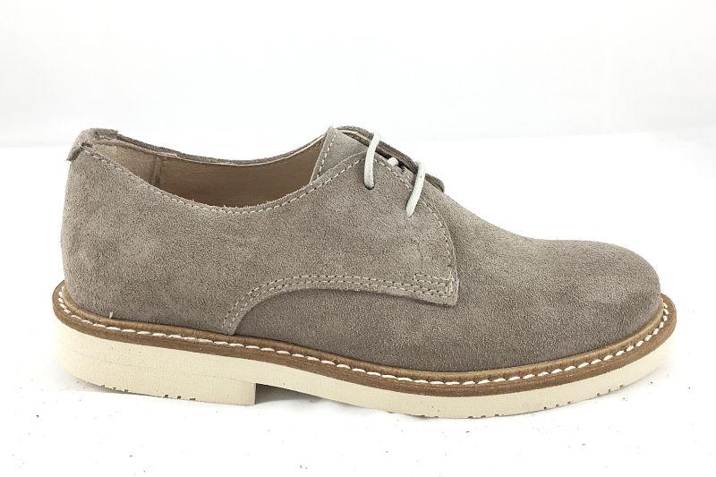 Zapato Blucher en ante