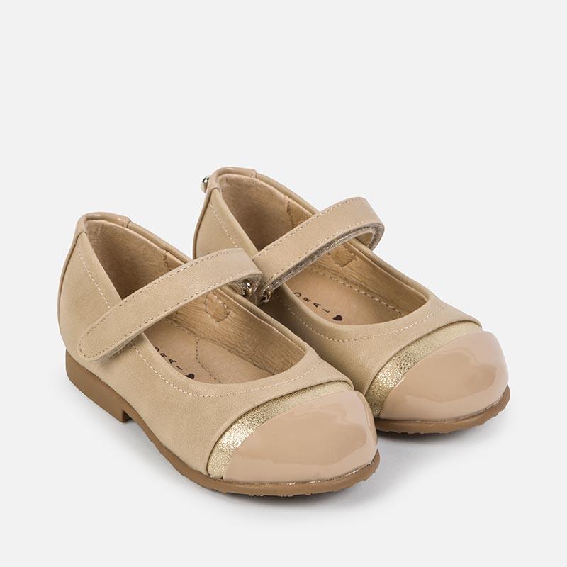 Zapato Mercedita para Bebé niña Beige