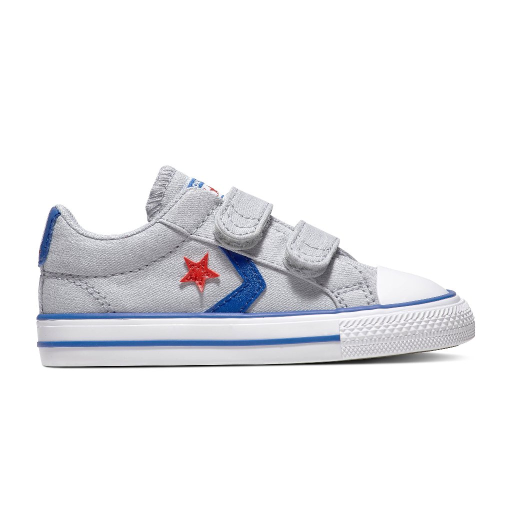 Converse Star Player 2V Gris/Azul