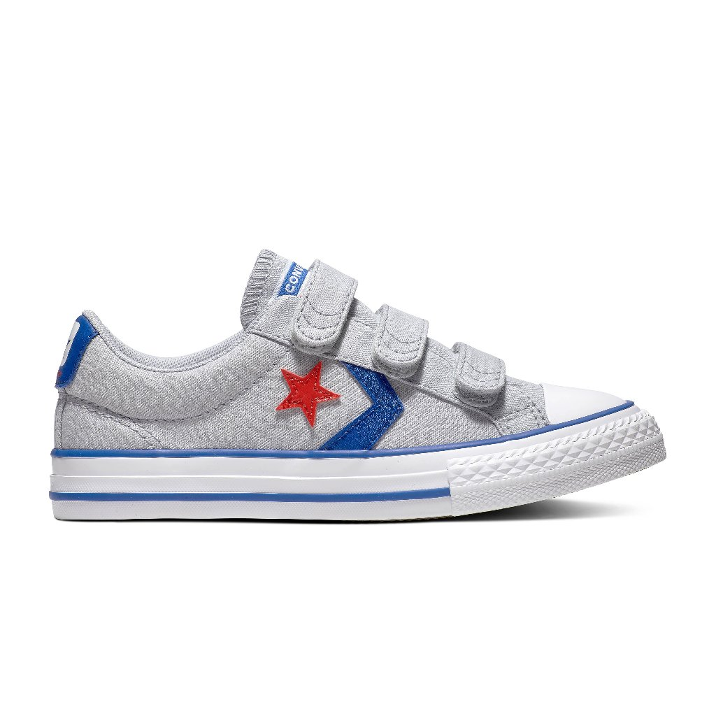 Converse Star Player 3V Gris/Azul