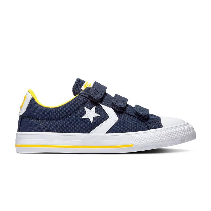 Converse Star Player Azul marino y amarillo
