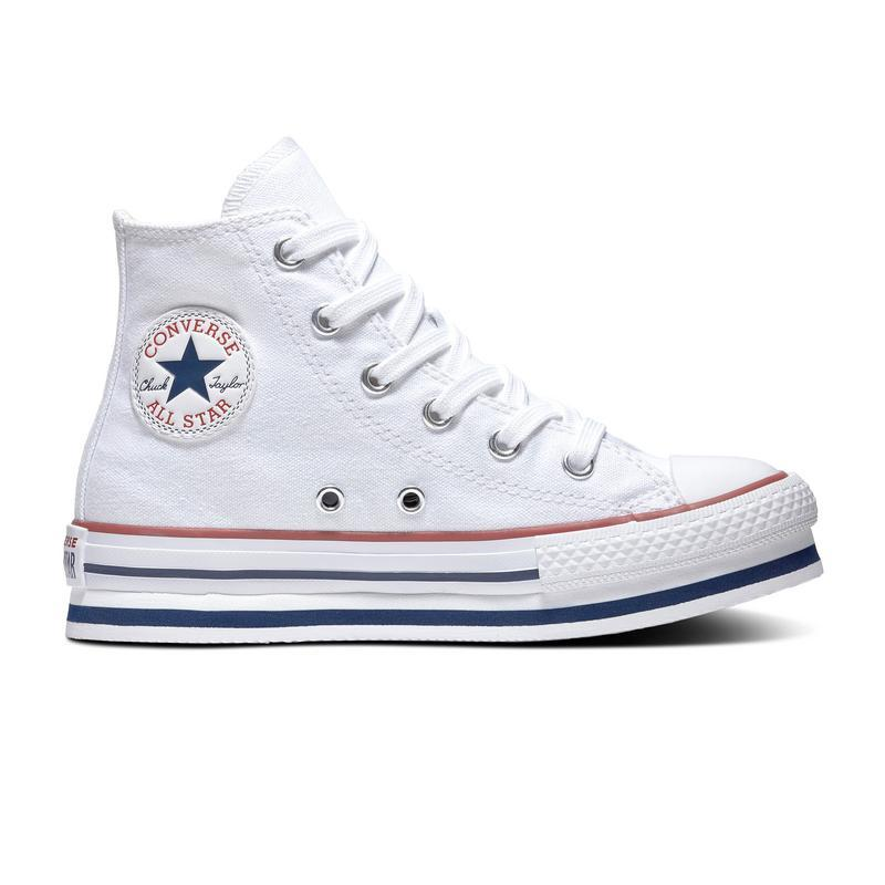 Converse All Star Bota plataforma White Tallas 31 a 38,5